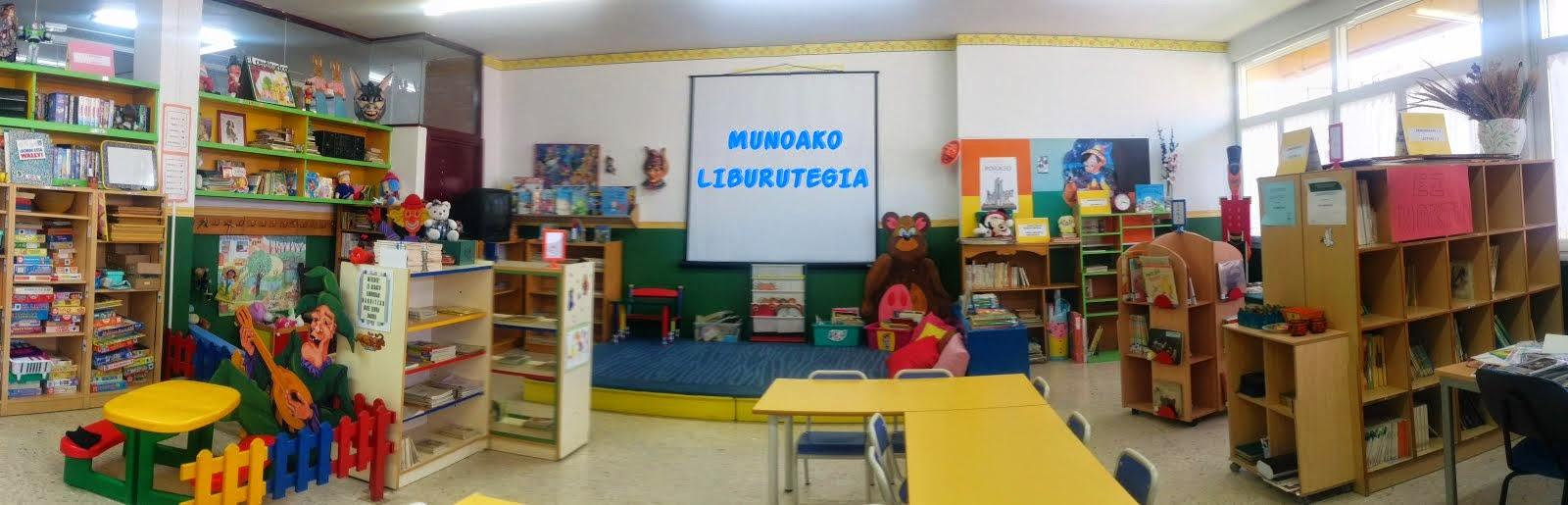 MUNOAKO LIBURUTEGIA