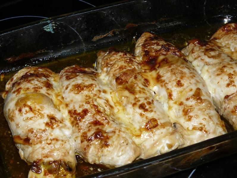 Рецепт из куриного филе