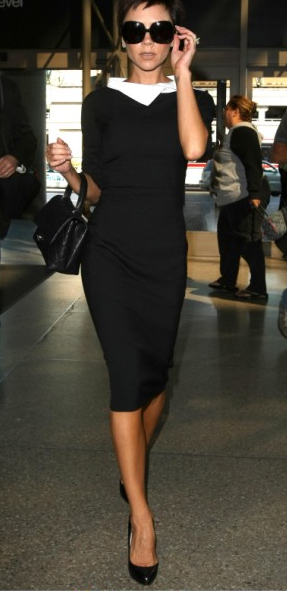 Monochrome Victoria Beckham Style Glamouria In Fashion