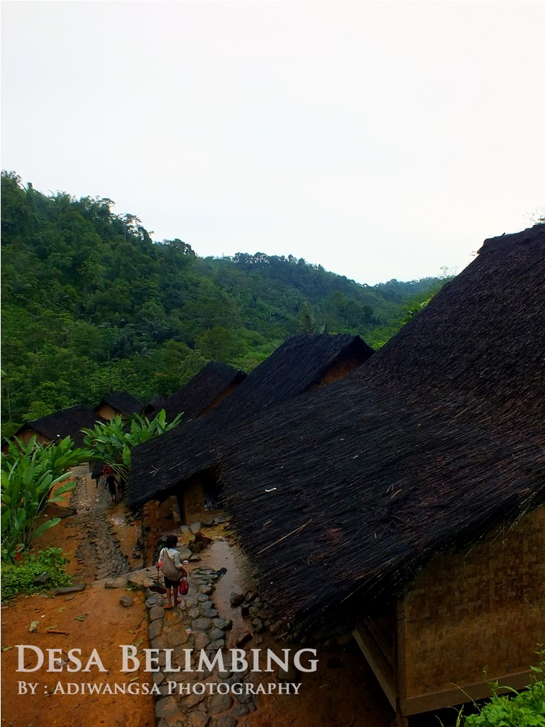 Pemandangan desa Belimbing, Kawasan Baduy Luar