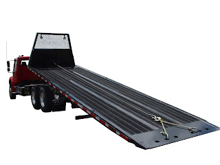 rollbacks installed this heavy duty steel rollback on a mack chassis