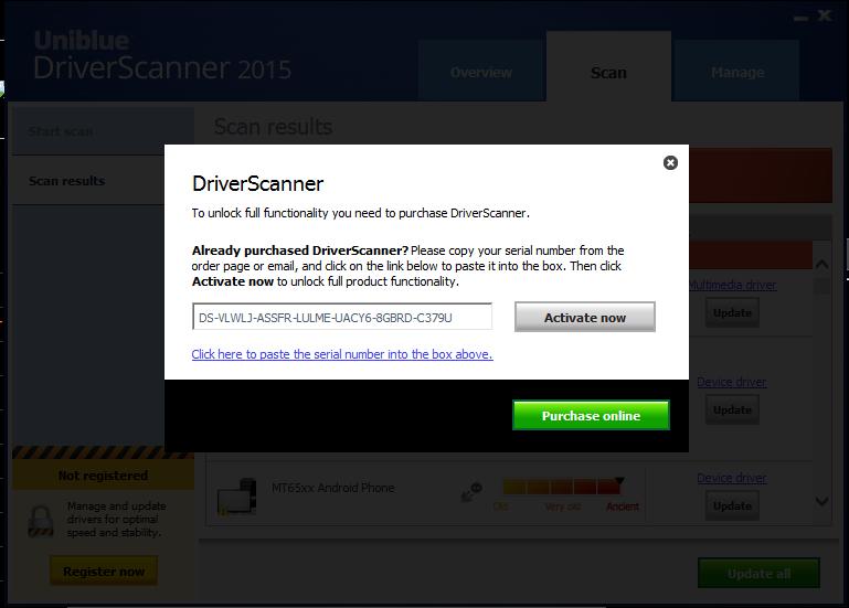 ключи для драйвер сканер 2015 бесплатно