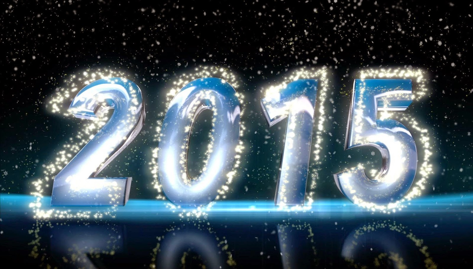 HD New Year 2015 Background Wallpapers