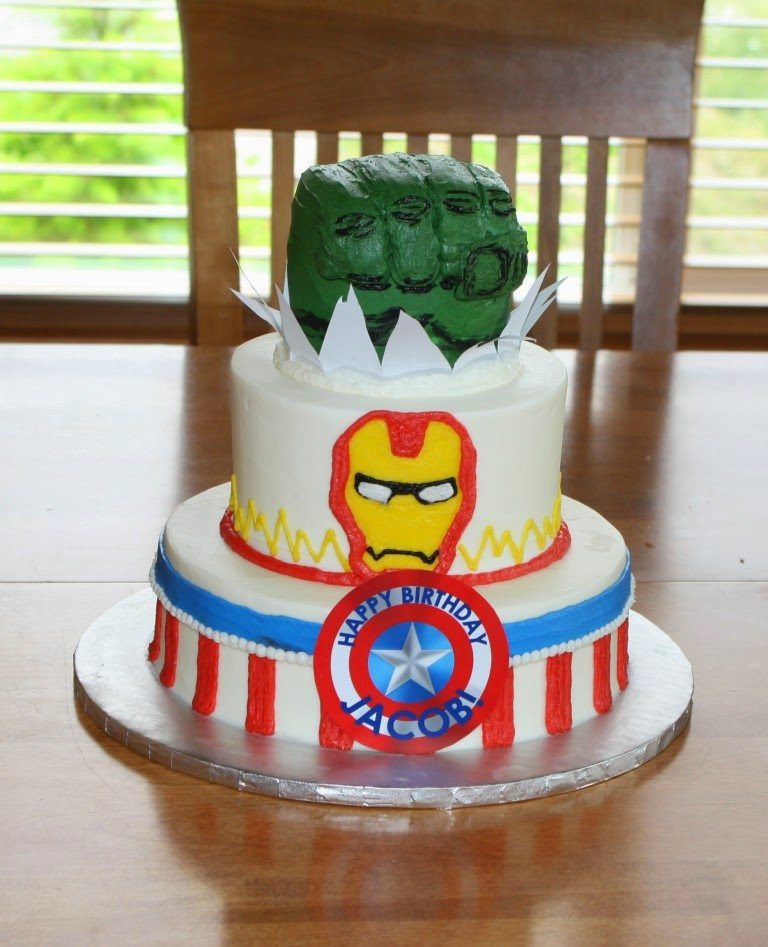 Party Cakes June 2014