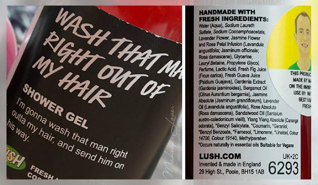 LUSH Neuheiten Herbst 2015 wash that man right out of my hair shower gel
