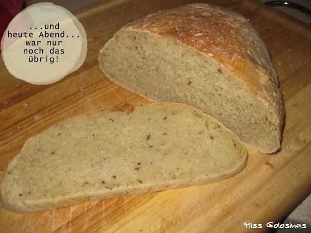 Brot, bread, Overnight-Bread