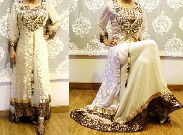 Noor Sahar party wear outfit 2013
