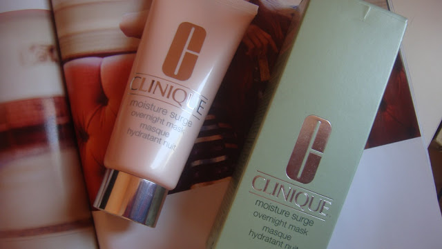 Clinique Moisture Surge Overnight Mask.