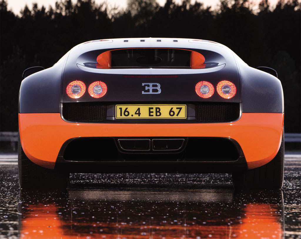 Bugatti Veyron Super Sport Beats Another Record on Top Gear