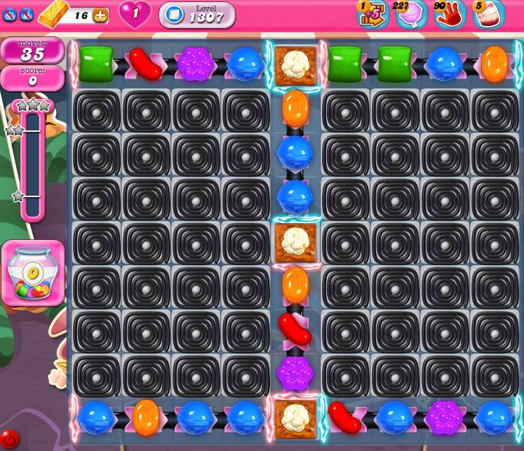 Candy Crush Saga 1307