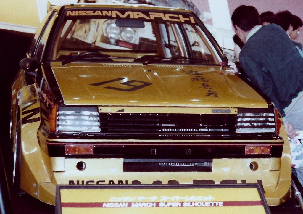 Nissan March, Super Silhouette, wyścigowy, Japonia, JDM, racing, bodykit, rasowy, mały samochód, szybki