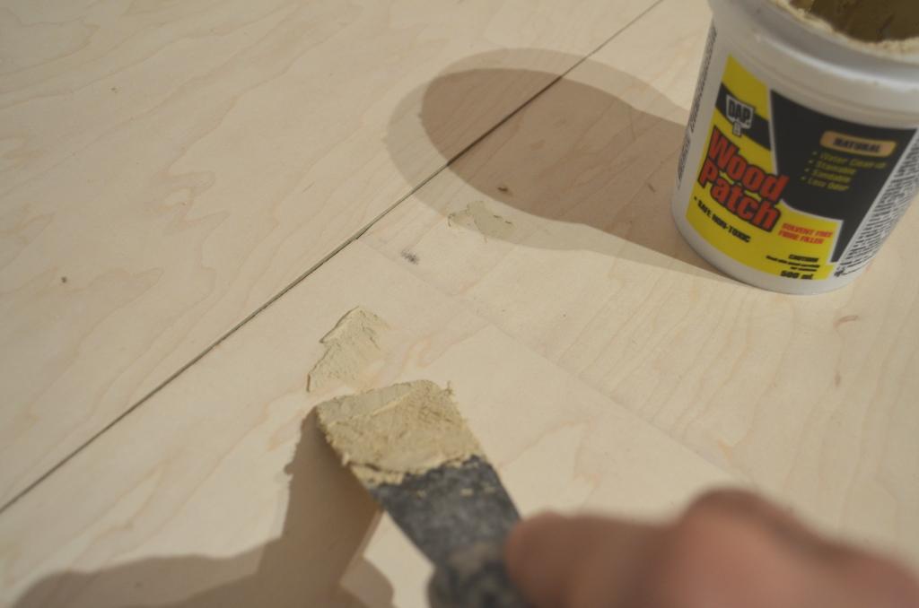 The bennett house diy plywood floors