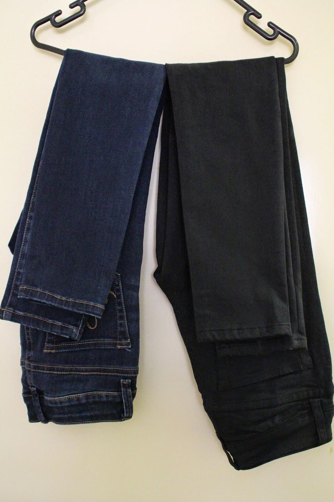 autumn fashion haul, fall fashion haul, jeans, high waisted jeans