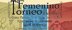 TORNEO TENIS FEMENINO