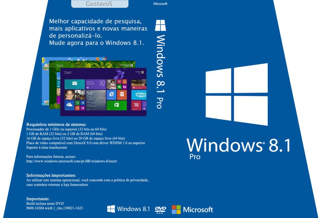 Download Windows 8.1 Pro Original HP Compaq PT-BR X64