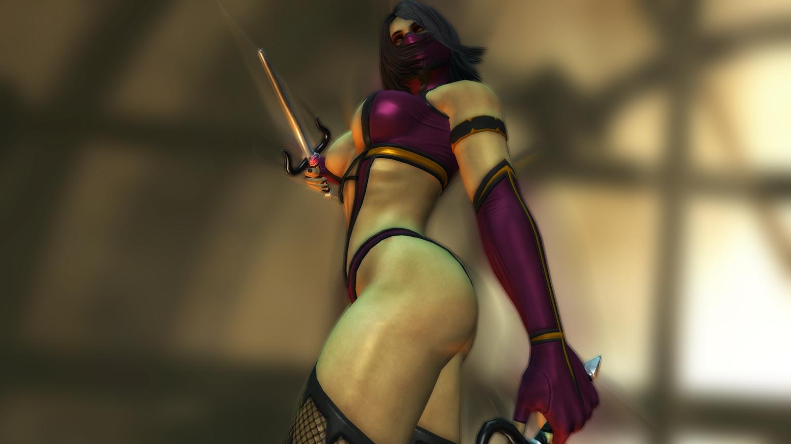 Mortal kombat girls nake mod on ps sexy video