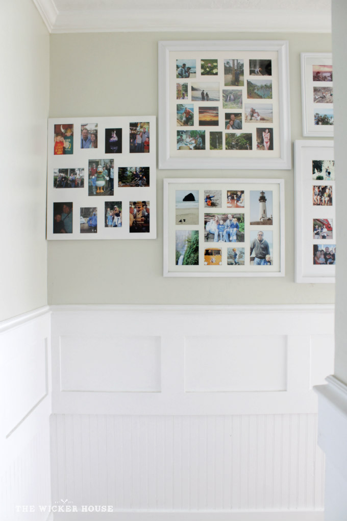 Collage Frame Gallery Wall - The Wicker House
