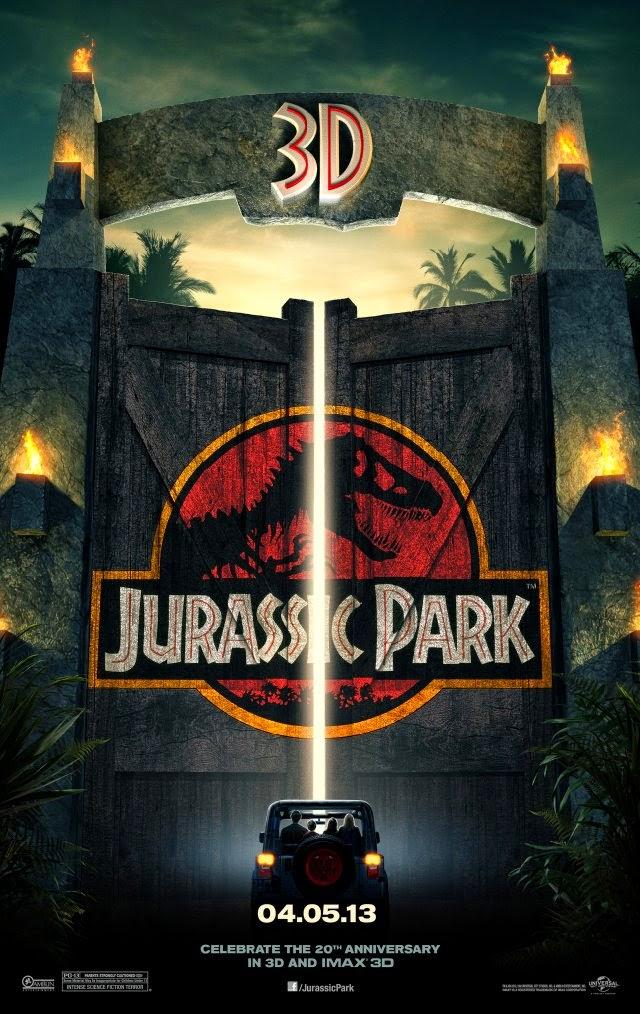 La película Jurassic Park 3D ( Parque Jurásico 3D )