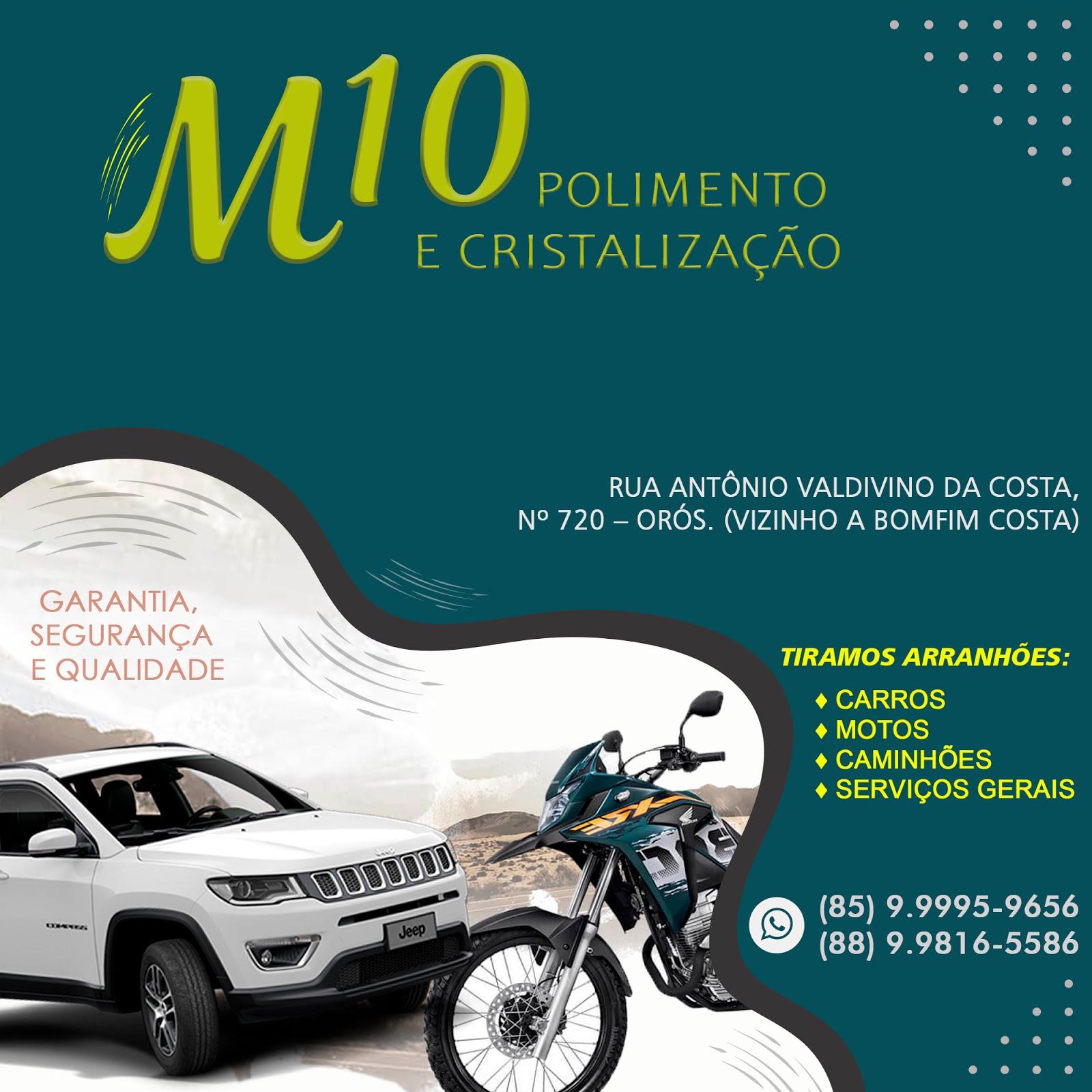 M10 POLIMENTO E CRISTALIZAÇÃO