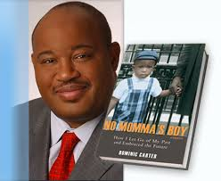 Dominic Carter's Remarkable Book on his life. Motivational Doll is Below