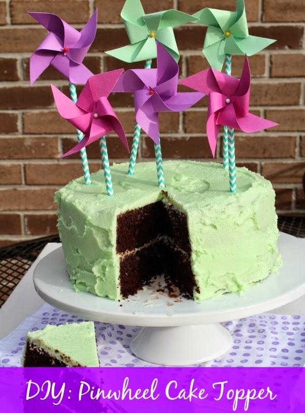 easy cake topper