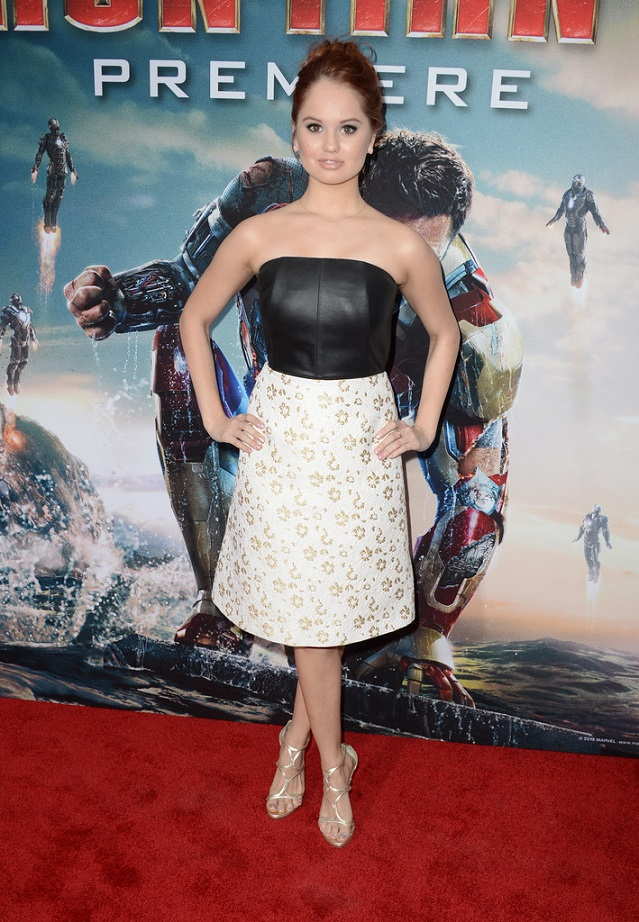 "Debby Ryan - ""Iron Man 3"" Premiere in Hollywood"