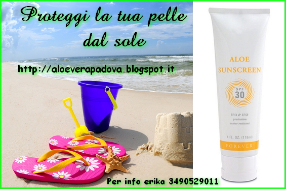 Aloe sunscreen crema