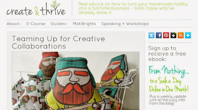 http://www.createandthrive.com/teaming-up-for-creative-collaborations