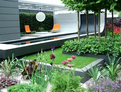 30 Desain Rancangan kebun Minimalis   Desain Rumah Minimalis Sederhana