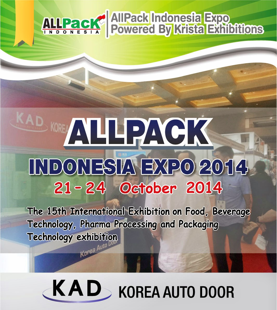 pamphlet of allpack indonesia