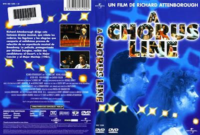 Cine clásico: A chorus line   1985   Caratula, dvd, cover