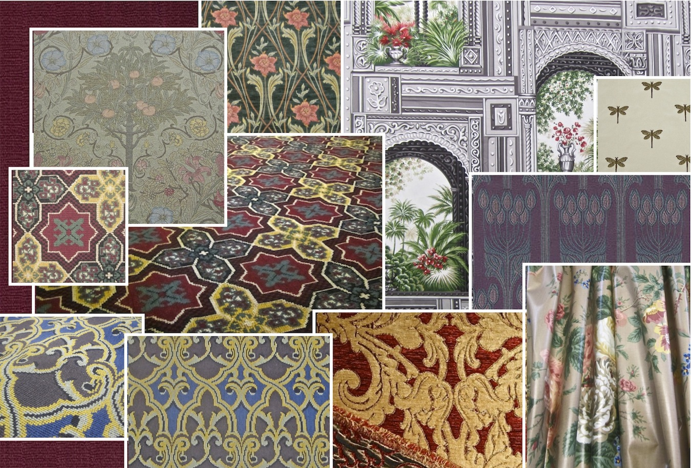 new gothic victorian arts crafts aesthetic eastlake art nouveau fabrics just arrived at restoration fabrics and trims a treasure trove including - First Dibs Home Decor