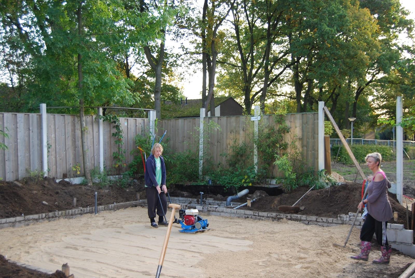 Zelf een atelier bouwen: oktober 2012