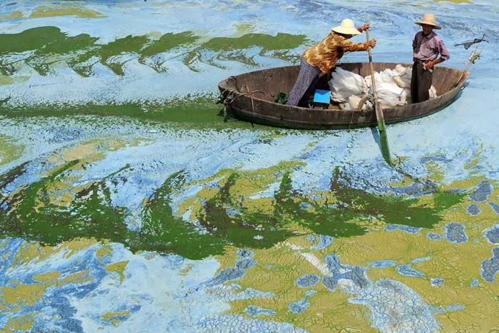 Photographer Tszianan Yu took this picture of Chaohu Lake