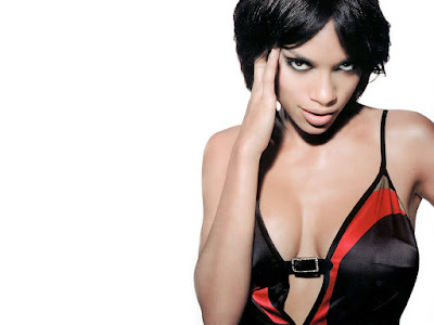 Hot Beauty Rosario Dawson Wallpaper