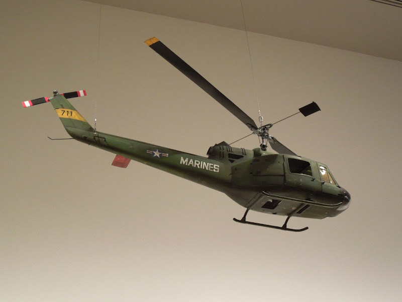 Full Metal Jacket US Army helicopter movie model