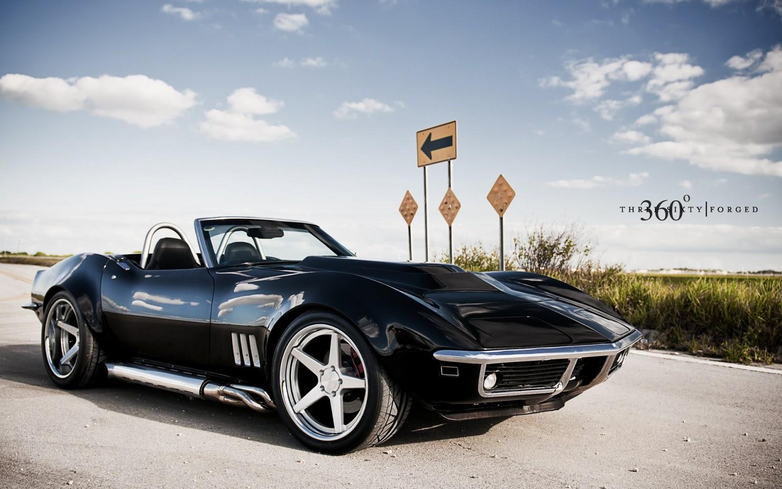 Chevrolet Corvette C3 BLack