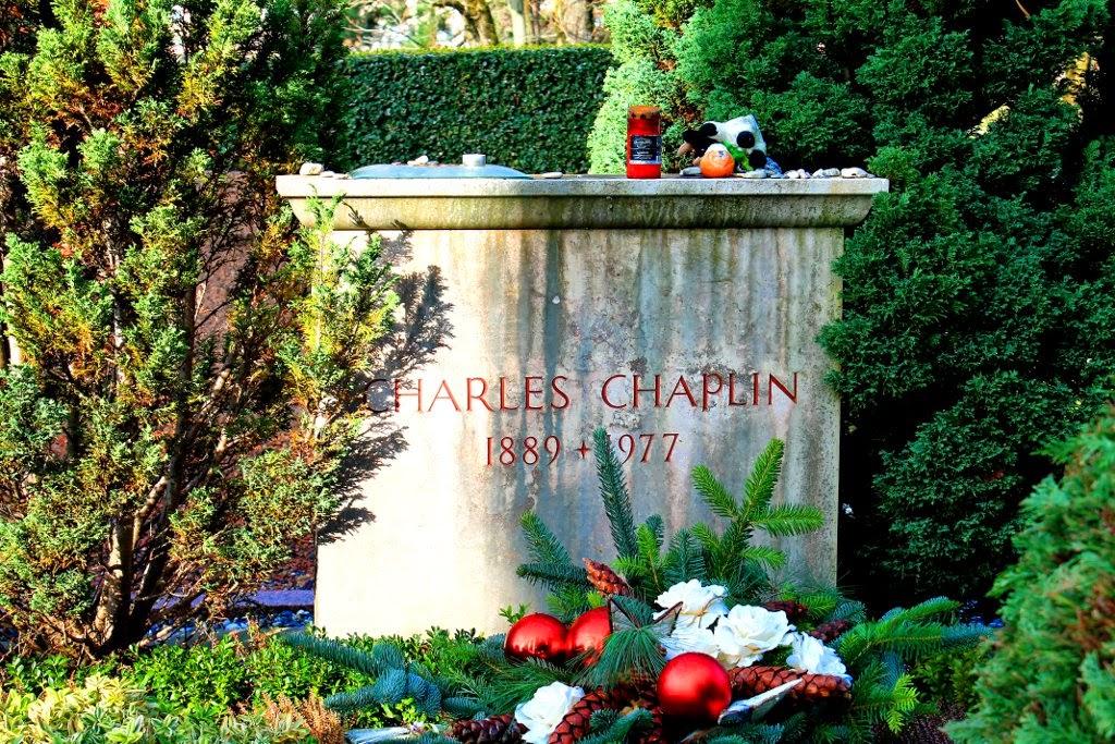 charlie chaplin Grave