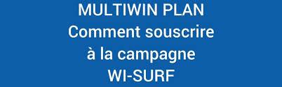 Nouvelle campagne Wi-Surf et recevoir roylaties chaque mois 2016/2017