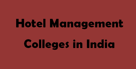 Hotel Management Colleges in India