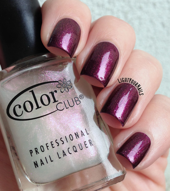 Color Club Femme Fatale (over Sally Hansen Save the Date)