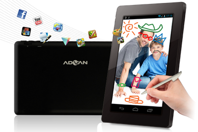 Advan Vandroid T2,Tablet Cina,Tablet Lokal,Table Android Murah