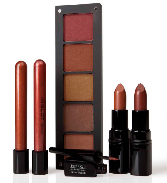 inglot bridal products colors