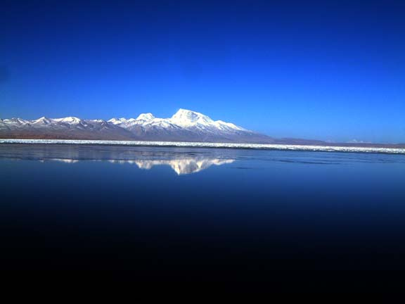 lake manasarovar as still as a image...