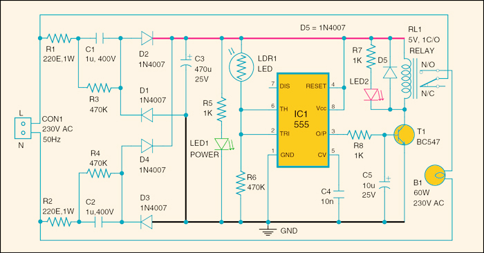 Electrical and Electronics Engineering: Simple Project with PCB ...