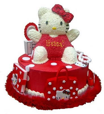 Ideas For Your Birthday Parties Hello Kitty Cake Pictures