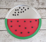 Magnetic Watermelon Counting from Smart School House Crafts for Kids!