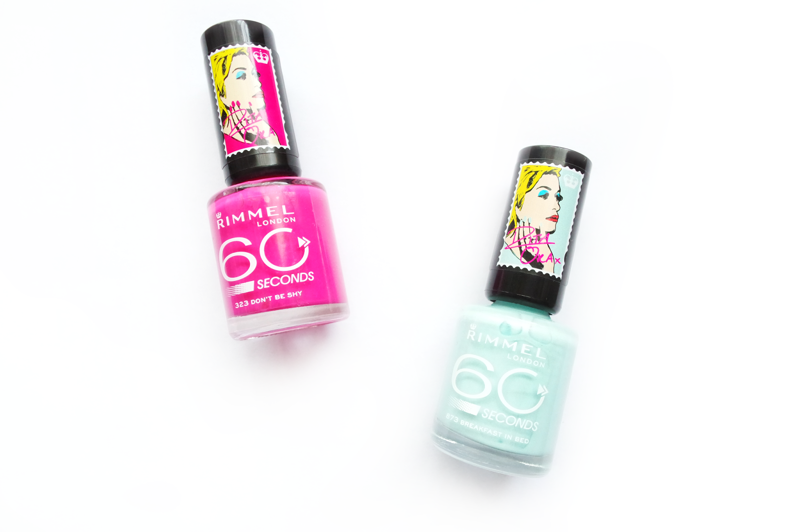 rimmel x rita ora collection, review, 60 seconds nail polish, colour rush intense colour balms