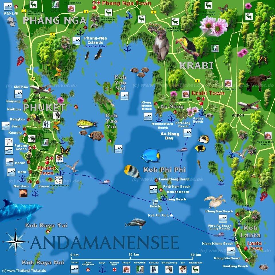 Krabi est une belle destination en thaïlande proche de phuket et