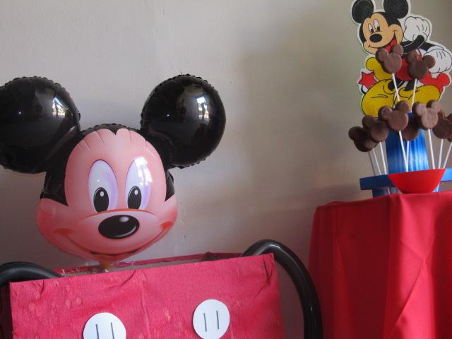 DECORACION MICKEY MOUSE FIESTAS INFANTILES | Revoltosos ...